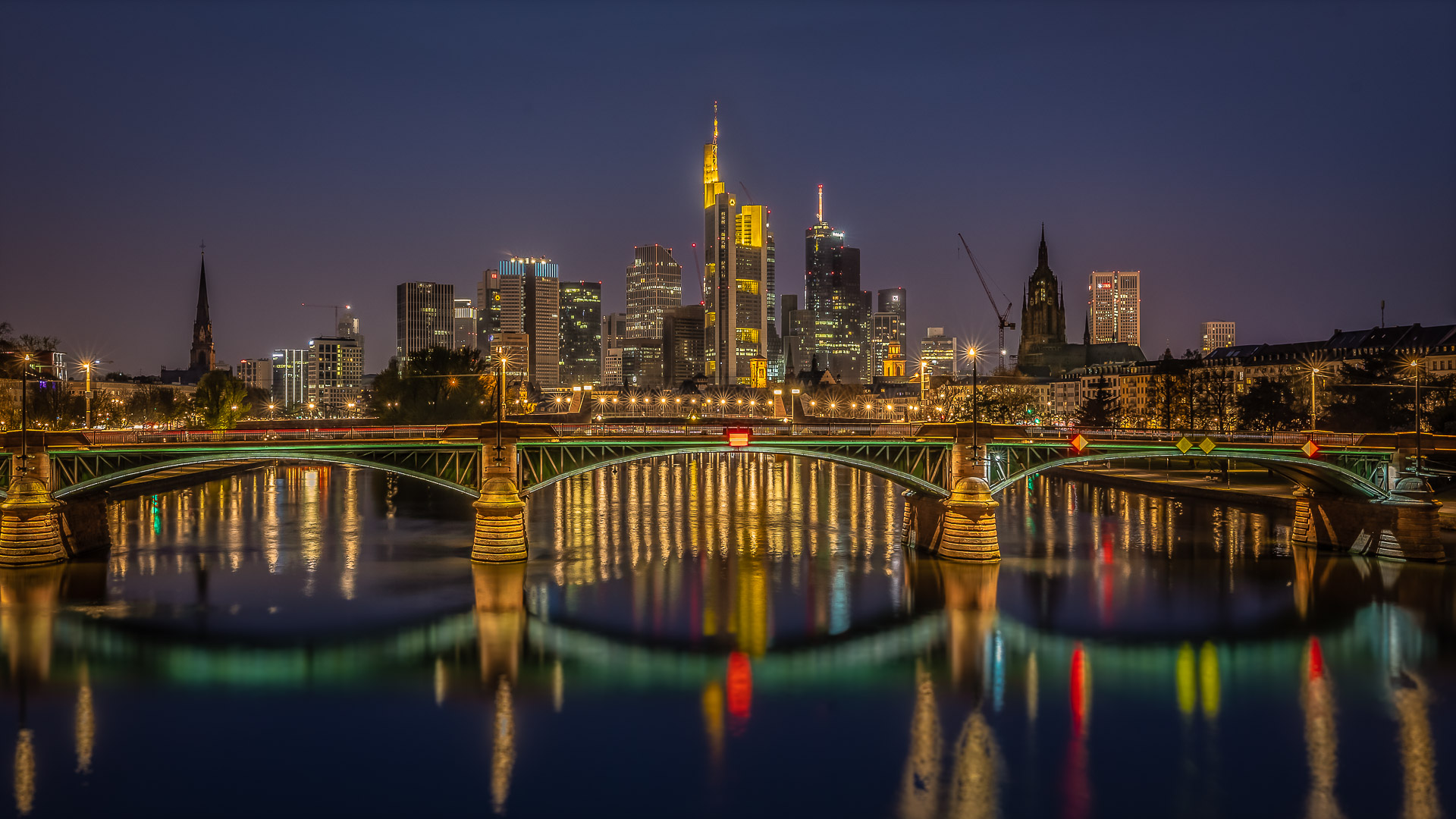 frankfurt lights!