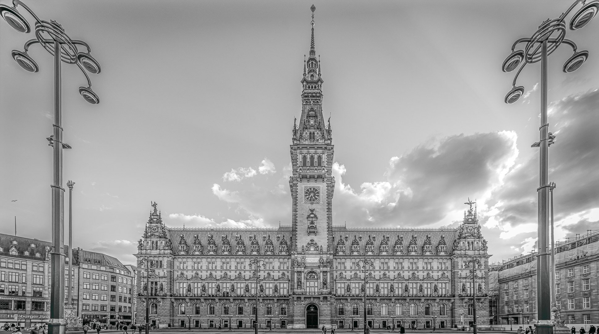 Hamburg Rathaus / City Hall