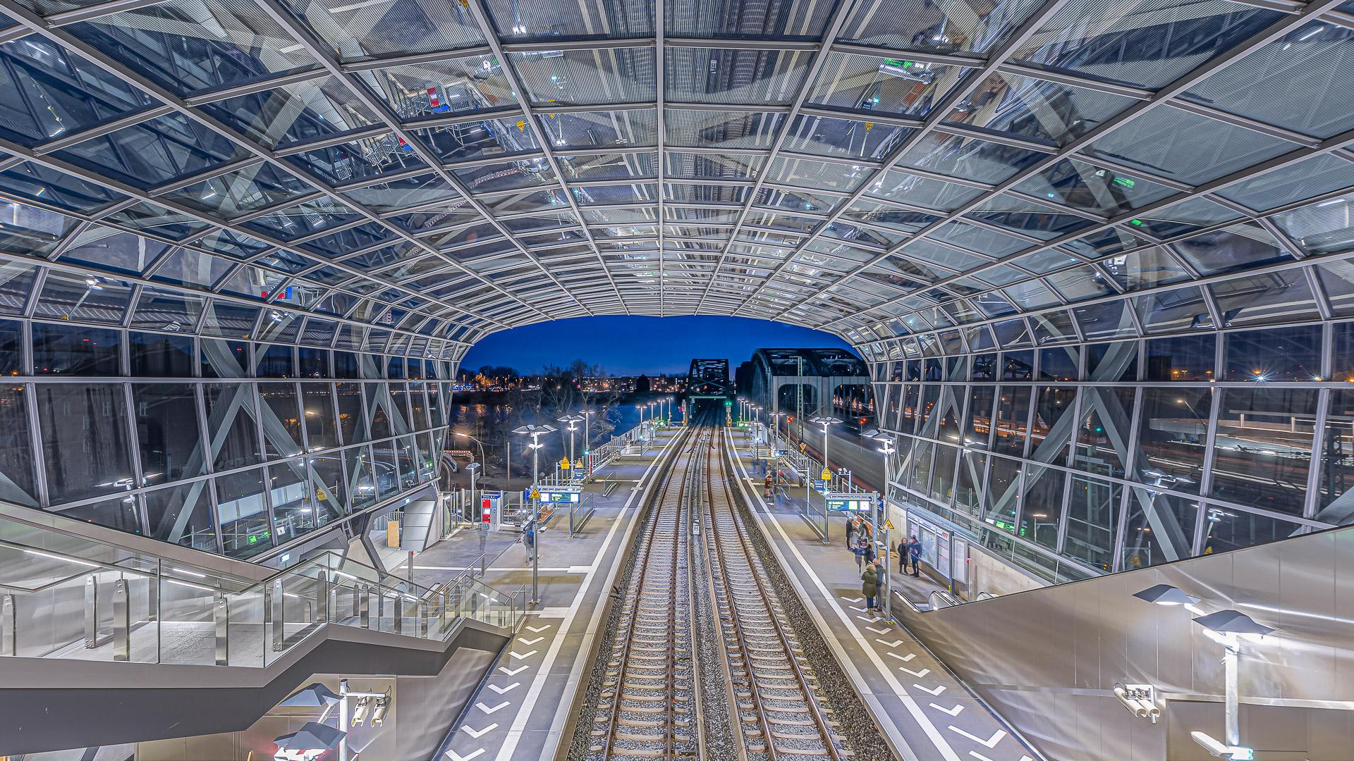 S-Bahnhof Hamburg Elbbrücken
