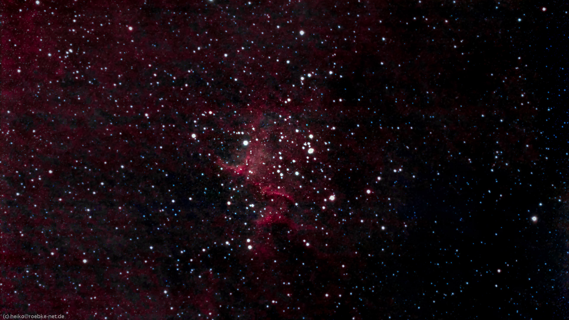 Herznebel IC1805 (Heart Nebula)