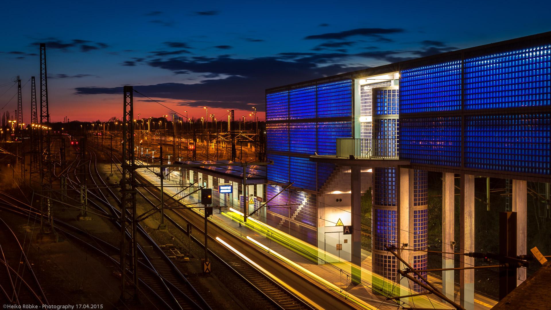 Bahnhof / station Hannover Nordstadt